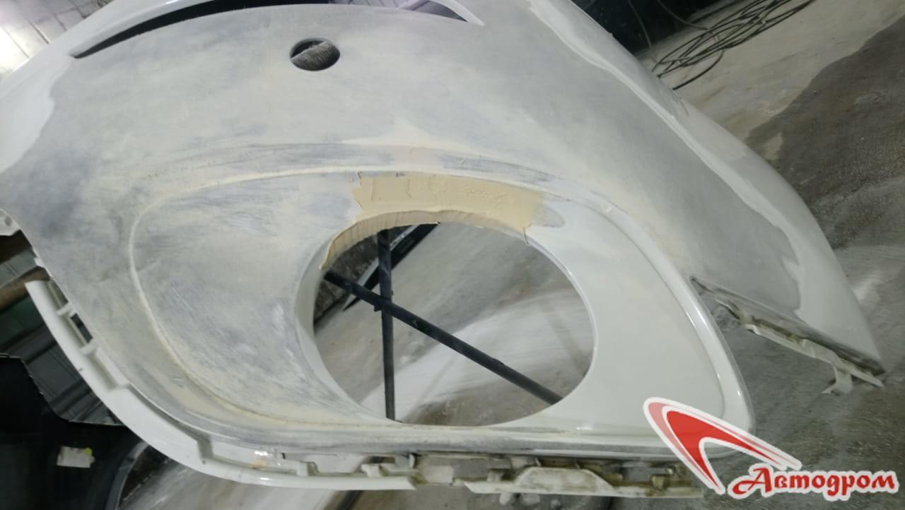 Ремонт бампера BMW X6
