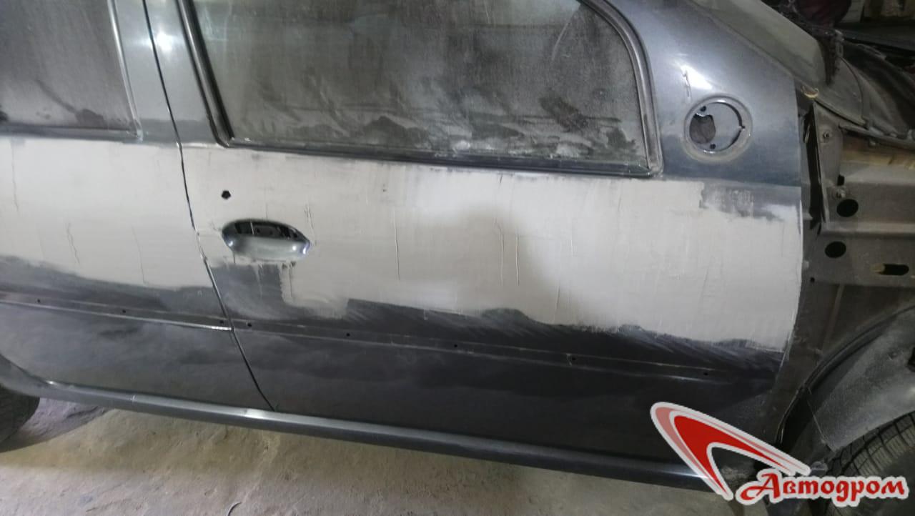 Кузовной ремонт Рено Логан в Новозыбкове