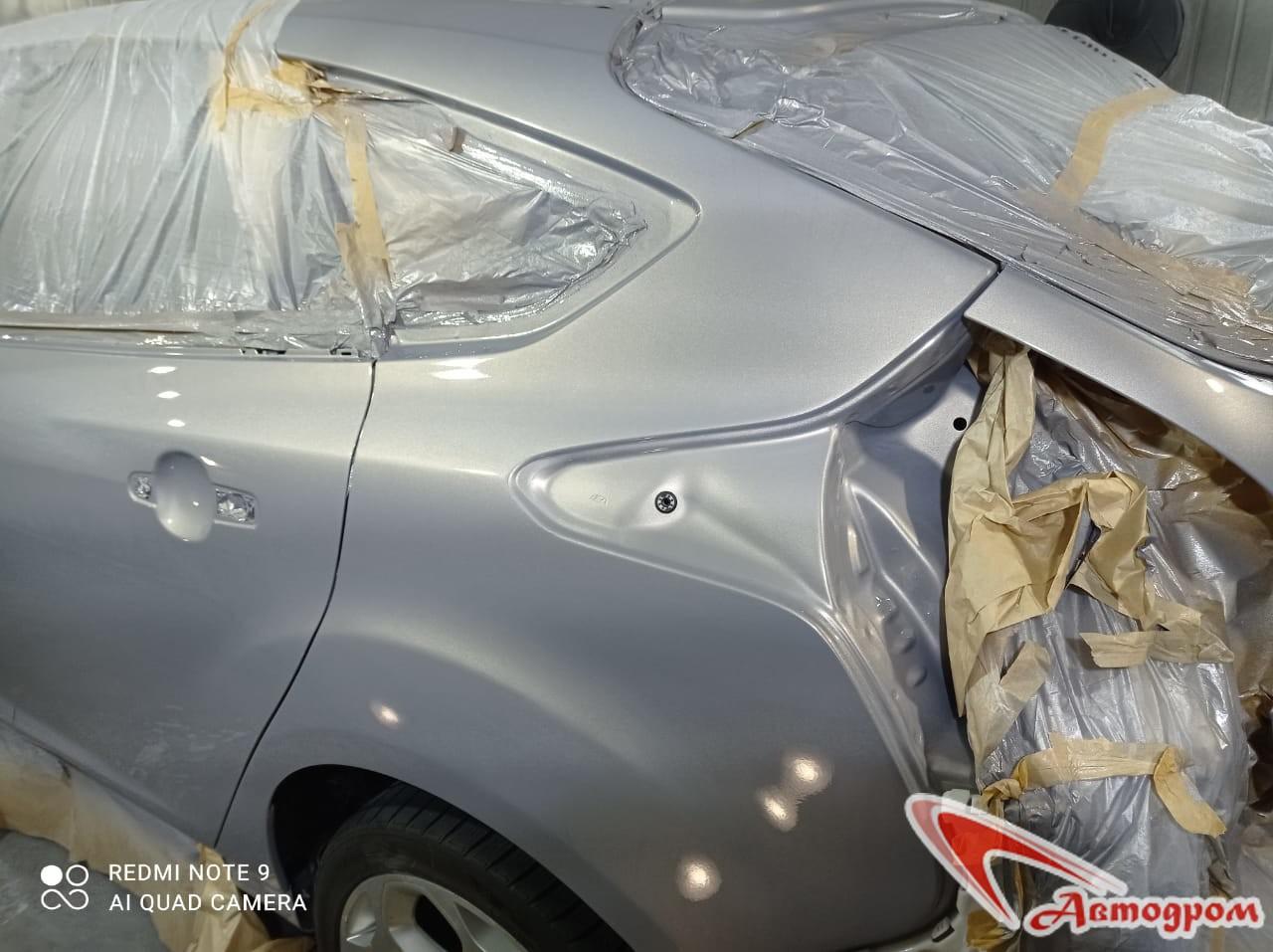 Кузовной ремонт Ford Focus в Новозыбкове